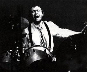 Phil Collins, going for it.