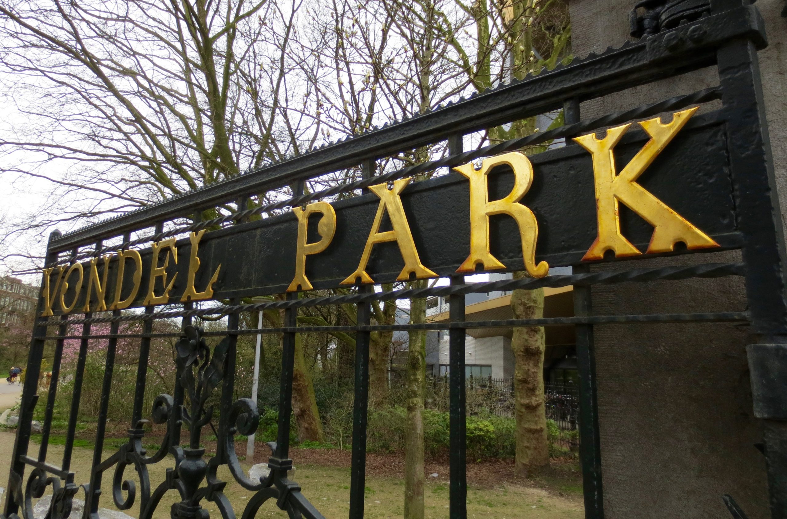 The Vondelpark – Amsterdam